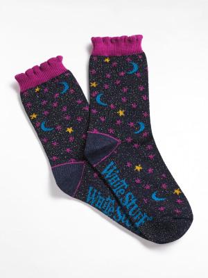 Mini Me Sparkle Stars Socks