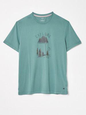 Explore Organic Graphic Tee