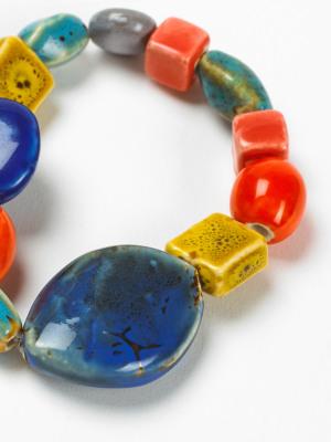 Multi Ceramic Bracelet