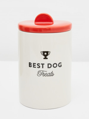 Best Dog Treat Jar