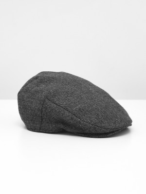 James Wool Flat Cap