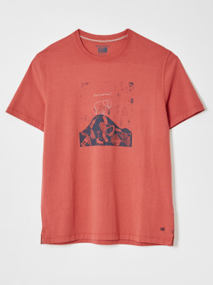 Home Graphic Organic Tee