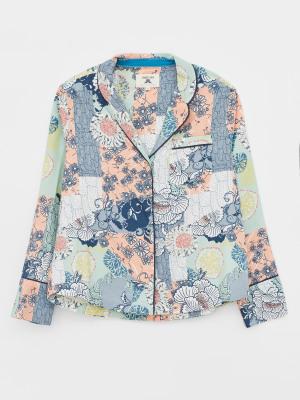 Skylar Woven PJ Shirt