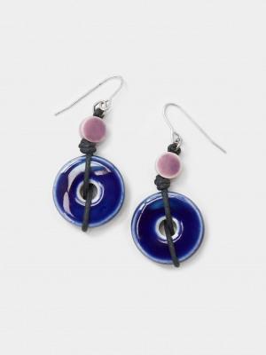 Carrie Ceramic Drop Earrings