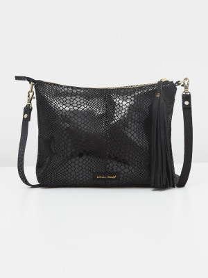 Ronnie Leather Slouch Bag