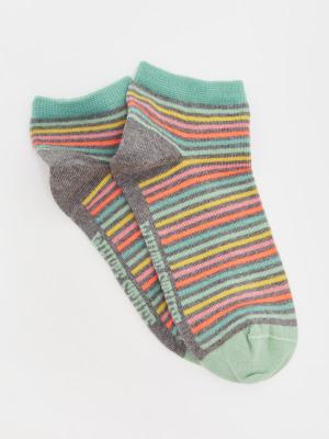 Stripe Trainer Sock