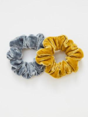 Velvet Scrunchie 2 Pack
