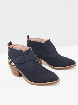 Western Monk Ankle Boot