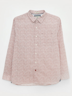 Block Print Geo Shirt
