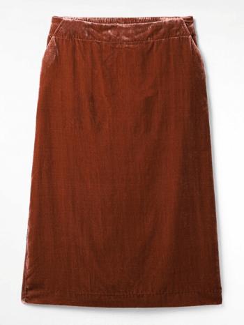 Plain Clay Orange Gallery Skirt – White Stuff