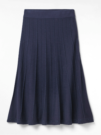 Tags: Navy Inga Knit Skirt – White Stuff