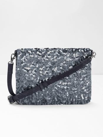 Pewter Sequin Shimmer Bag