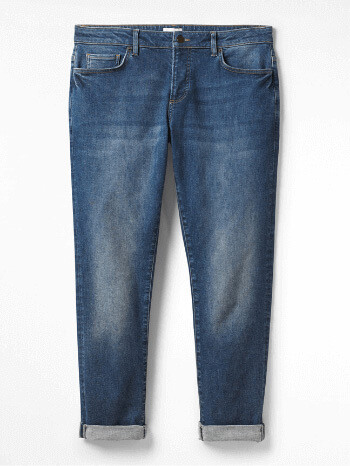 Denim Boyfriend Jeans - White Stuff