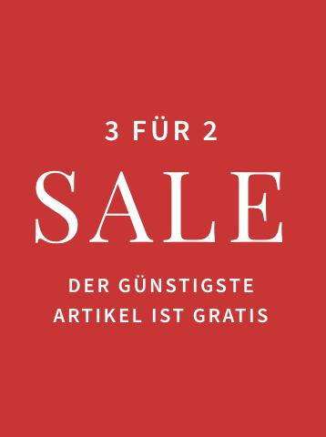 3 für 2 Sale
