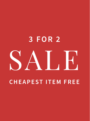 3 for 2 Sale