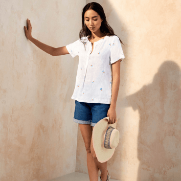 The Perfect Linen Top
