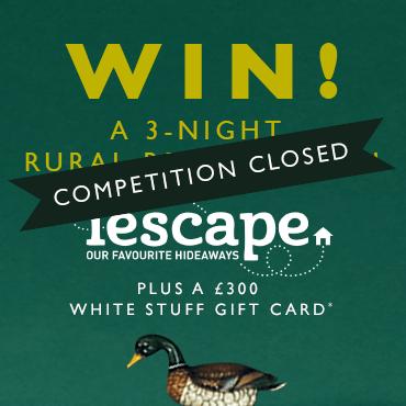 Win a 3-night rural retreat - Closed