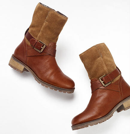 Up to 60% off women's shoes and boots