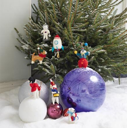 Wunderbare Weihnachtswelt: Deko