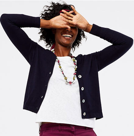 Twice as nice - 2 for £70 on the clocktower skirt & selected cardigans*