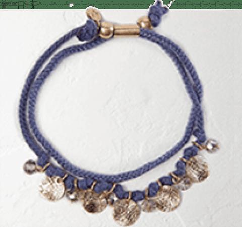 Poetry Coin Bracelet