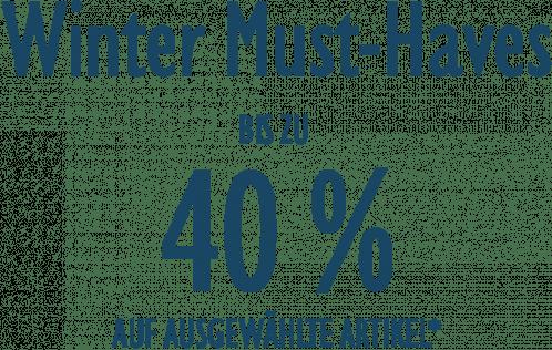 Winter Must-Haves - BIS ZU 40%