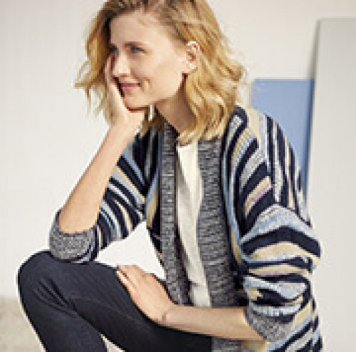 French Poet Cardigan
