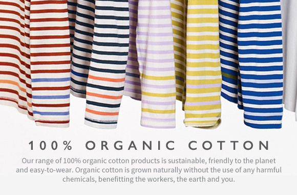 Womens 100% Organic Cotton | Tees & Chinos | White Stuff