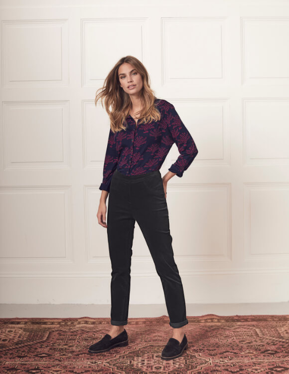 party tops and velvet jeggings