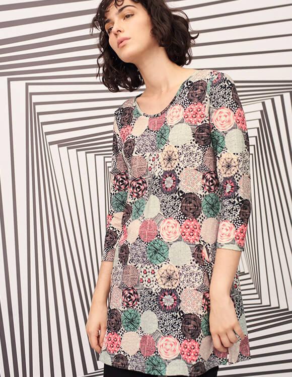versatile floral dress