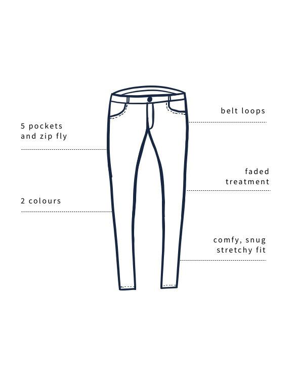 Slim Leg - Diagram