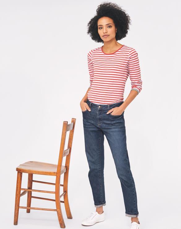 Boyfriend Leg Jeans