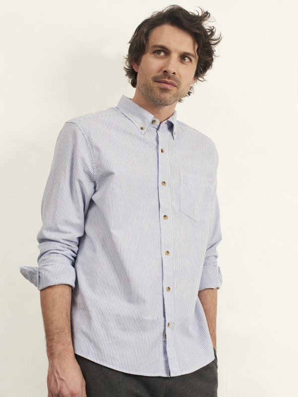 White Stuff Midway Oxford Stripe Shirt