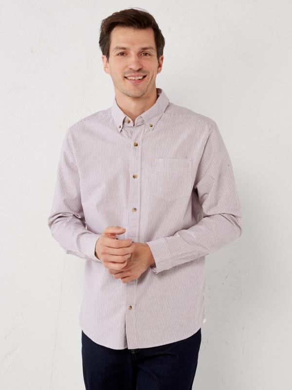 White Stuff Midway Oxford Stripe Shirt