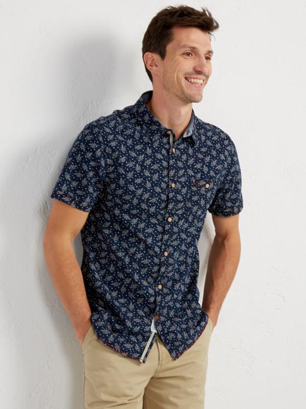 White Stuff Grifter Print Ss Shirt