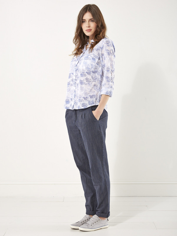 White Stuff Slouchy Stripe Trouser