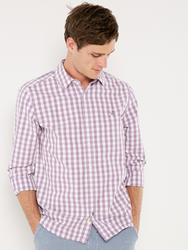 White Stuff Heartland Gingham Ls Shirt