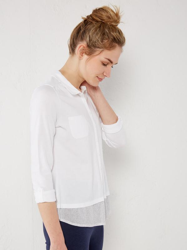 White Stuff Botanical Jersey Shirt