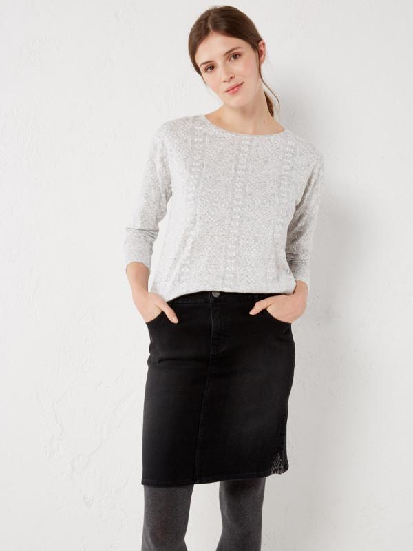 White Stuff Country Walk Denim Skirt