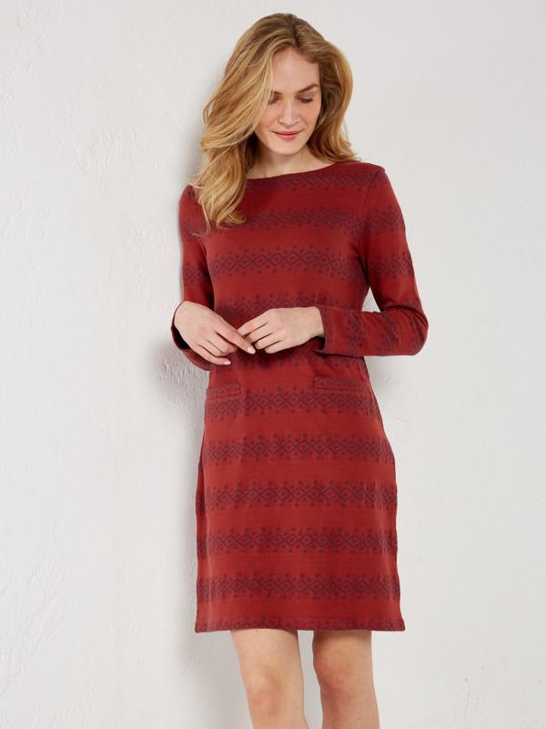 White Stuff Stripe Away Jersey Dress