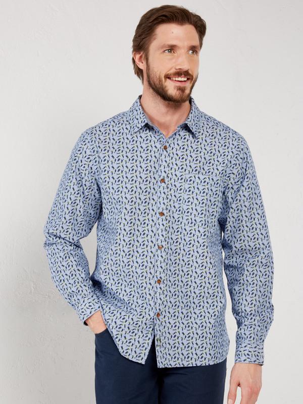 White Stuff Metar Print Ls Shirt