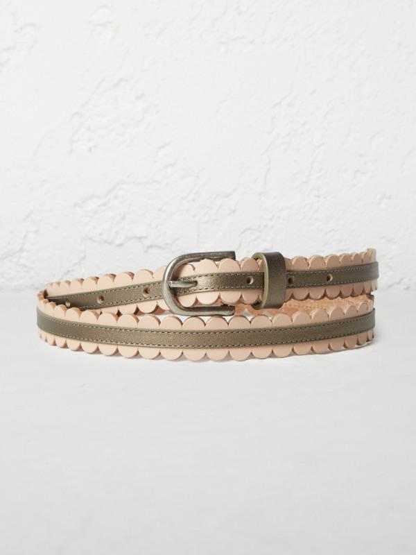 White Stuff Scallop Skinny Belt