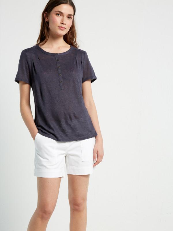 White Stuff Violetta Sands Jersey Shirt