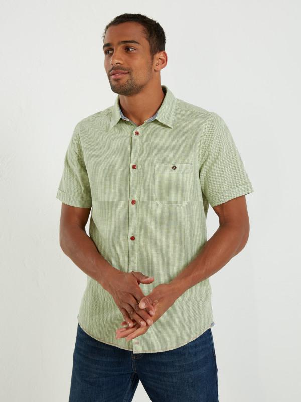 White Stuff Vista Check Ss Shirt