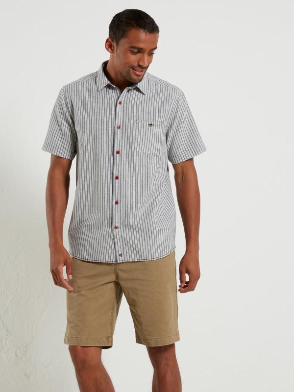 White Stuff Promenade Stripe Ss Shirt