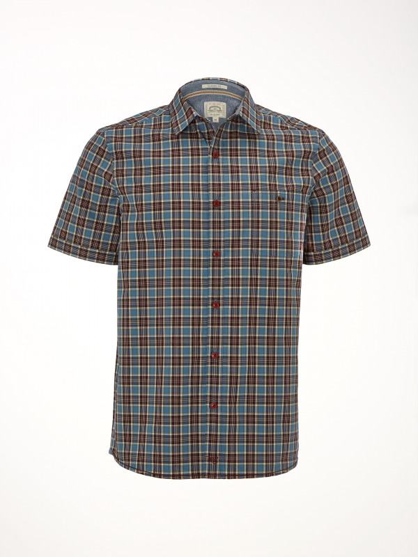 White Stuff Pier Check Ss Shirt