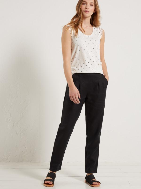 White Stuff Maison Linen Trousers