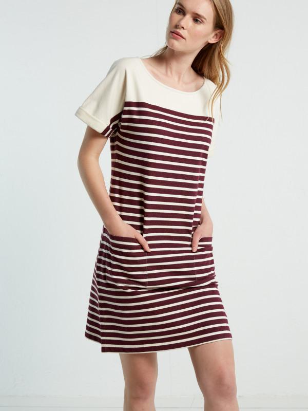 White Stuff Kora Stripe Dress