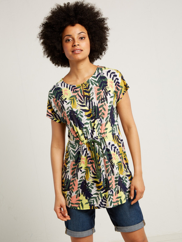 White Stuff Summer Flow Jersey Tunic