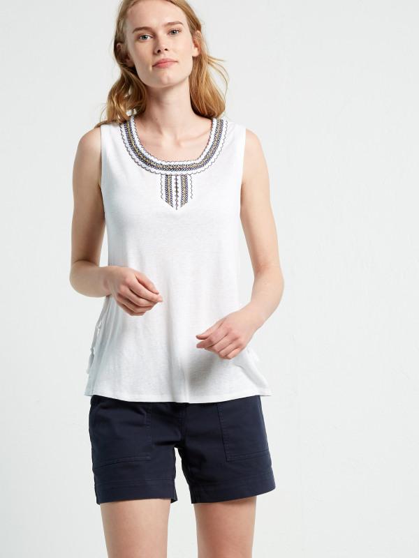 White Stuff Lesotho Jersey Vest
